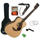 Yamaha FG800 Acoustic Guitar - Natural GUITAR ESSENTIALS BUNDLE