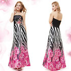 Ever Pretty Sleeveless Printed Cocktail Formal Party Evening Dress 09200