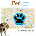 Pets GPS Tracker Position LED Real-time Tracking GSM/GPRS Waterproof for Dog Cat