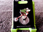 Disney  GOOFY on VINTAGE BICYCLE  Trading Pin New on Card