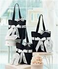 WEDDING PARTY GIFT TOTE BAG FLIP FLOP SET BRIDE BRIDESMAID AND OR MAID OF HONOR