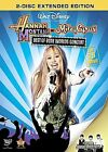 Hannah Montana  Miley Cyrus Best of Both Worlds Concert DVD 2008 2 DiscNew