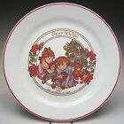 Corning Corelle 20th Anniversary of Corelle Christmas Plate Happy Holidays 1990