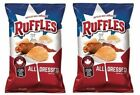 Ruffles All Dressed Potato Chips 2 Bag Pack