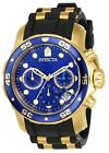 Invicta 17882 Men's Pro Diver Blue Dial Chronograph Dive Watch