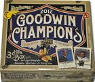 2012 Upper Deck Goodwin Champions Factory Sealed Hobby Box 20 Packs Auto Jersey?