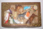 Vintage FRIEDEL West German Plastic Nativity Set