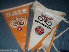 old vintage schwinn sales banner flags 25 ft long stingray sting ray krate bike