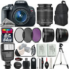 Canon EOS Rebel T5i DSLR Camera 700D + 18 55mm IS STM Ultimate Saving Bundle