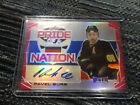 15-16 LEAF METAL RARE AUTO #5 7 PAVEL BURE THE RUSSIAN ROCKET PRIDE OF A NATION