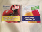 Lot of 2 WEIGHT WATCHERS 2008 COMPLETE FOOD COMPANION Dining out POINTS
