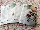 4 NIP 8x10 2 White Refill Pgs 60 Pages 2 Pkg Protectors 64 Pgs Creative Memories