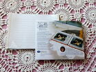 NIP 2 Pkg Creative Memories 5x7 White Ruled Refill Pages & Protectors 10 Sheets