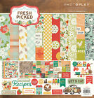 Photo Play FRESH PICKED 12x12 Scrapbook Paper Collection Kit Garden Theme