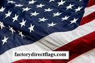 EMBROIDERED US FLAG 3 X 5 AMERICAN MADE FLAG 2 PLY SPUN POLY MADE IN USA