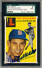 TED WILLIAMS 1954 Topps #250 AUTOGRAPH SGC Authentic AUTO SIGNED Card Red Sox