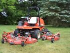 JACOBSEN HR5111 commical 11 mower front and bat wing deck kubota deiesl motor