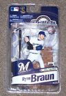MCFARLANE MLB ELITE RYAN BRAUN VARIANT BRONZE CHASE COLLECTOR # 1500 NEW NIP