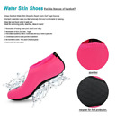 Womens Barefoot Water Skin Shoes Aqua Socks for Beach Swim Surf Yoga Exercise