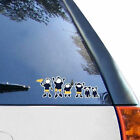 Michigan Wolverines 12 x 12 Family Car Decal Sheet College