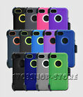 Rugged Case Cover w Belt Clip for iPhone 5C Holster Fits Otterbox Defender NEW