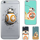 Awesome Star Wars BB 8 Robot TPU Soft Back Phone Case For iPhone 7 5 6 6s Plus