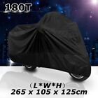 XXL Black Motorcycle Cover For Yamaha Road Star Midnight Silverado XV 1600 1700