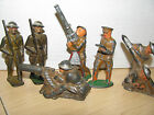 SIX  Barclay, Manoil,  Soldier Figures OLD Nice Paint LOOK