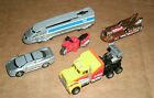Mini Hot Wheels Planet Micro Miniature Vehicles - 1997 Speed Records Collection