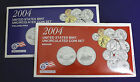 2004 UNCIRCULATED Genuine US MINT SETS ISSUED BY US MINT