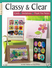 CLASSY  CLEAR CARDS Acrylic Altered Art Stamping Card Making Book