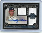 2016 MUSEUM COLLECTION #SST-SMI SHELBY MILLER AUTOGRAPH 3-JERSEY #73 99, BRAVES