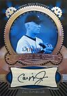 2004 Upper Deck Etchings Cal Ripken Jr Etched In Time #ET-CR Autograph Auto 100