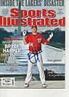 BRYCE HARPER Signed SPORTS ILLUSTRATED w PSA (NO Label) - GRADED 10