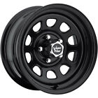 17x8 Black Vision D Window 5x55 12 Wheels Nitto Terra Grappler LT295 70R17
