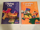 Lot of 2 WEIGHT WATCHERS 2002 COMPLETE FOOD Dining out WINNING POINTS reference