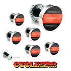 7 Pcs Billet Fairing Windshield Bolt Kit For Harley - RED LINE FIREFIGHTER - 094