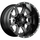 20x12 Black Fuel Maverick D538 5x55  5x150 44 Wheels 35X125X20 Tires