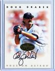 Doug Drabek 1996 Donruss Leaf Signature Series Gold On Card Autograph Auto