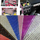 Self Adhesive Stickers Diamante Rhinestone Bling Sheet Crystal For Phone Car