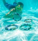 Aqua Fun Active Xtreme Dive Rings Swimming Pool Game 4 pack 72756