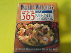 Weight Watchers New 365 Day Menu Cookbook by Inc Staff Weight Watchers Inter