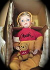 Ashton Drake You need a Hug Pooh Porcelain Doll numbered w certificate
