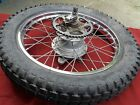 1974 74 Suzuki TS125 TS 125 Rear Wheel Assembly