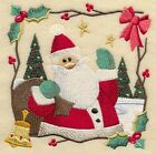 Series 9 x 12 Embroidered Quilt Block Pre Order Classic Country Christmas