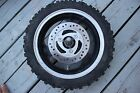 chinese scooter 50cc 4 stroke Front rim  front brake rotor axle  spedo drive