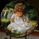 1996 AN ANGEL'S KINDNESS LIMITED EDITION PLATE 2917 I BY DONNA BROOKS BRADFORD