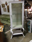 Glass Apothecary, Medical, Pharmacy, Vintage Industrial Cabinet.
