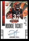 JEREMY HILL $40+ MINT BENGALS ROOKIE ON CARD AUTO #232 RC 2014 PANINI CONTENDERS