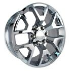 4 NEW 2014 GMC Sierra Wheels 22x9 Chrome OE 22 Silverado Denali Yukon Tahoe